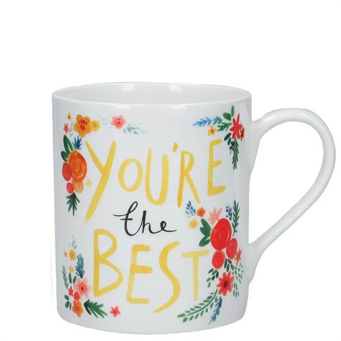 KitchenCraft 'You're The Best' Fine Bone China Mug