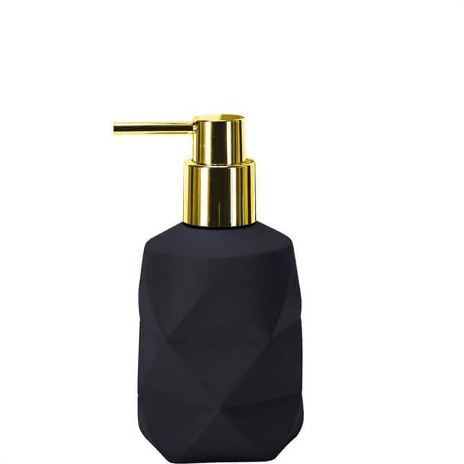 Kleine Wolke Crackle Black Soap Dispenser