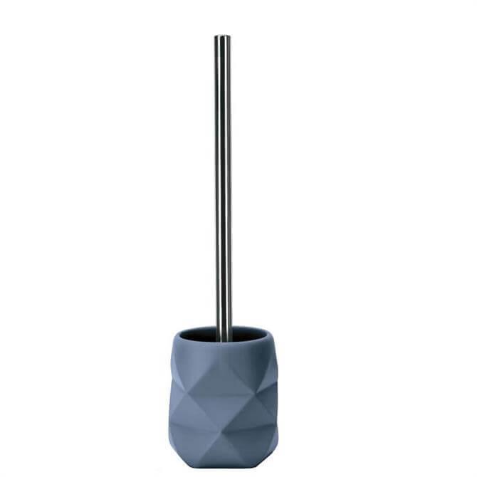 Kleine Wolke Crackle Blue Toilet Brush Holder