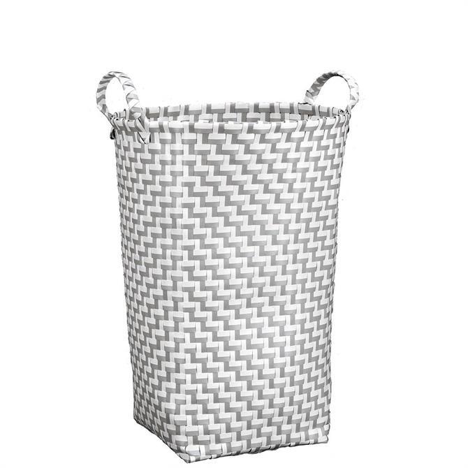 Kleine Wolke Platinum Grey Double Laundry Box