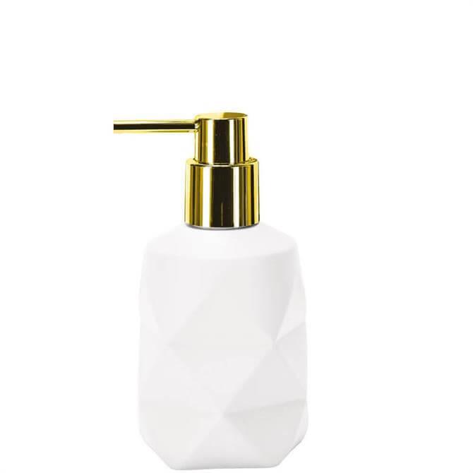 Kleine Wolke Crackle White Soap Dispenser