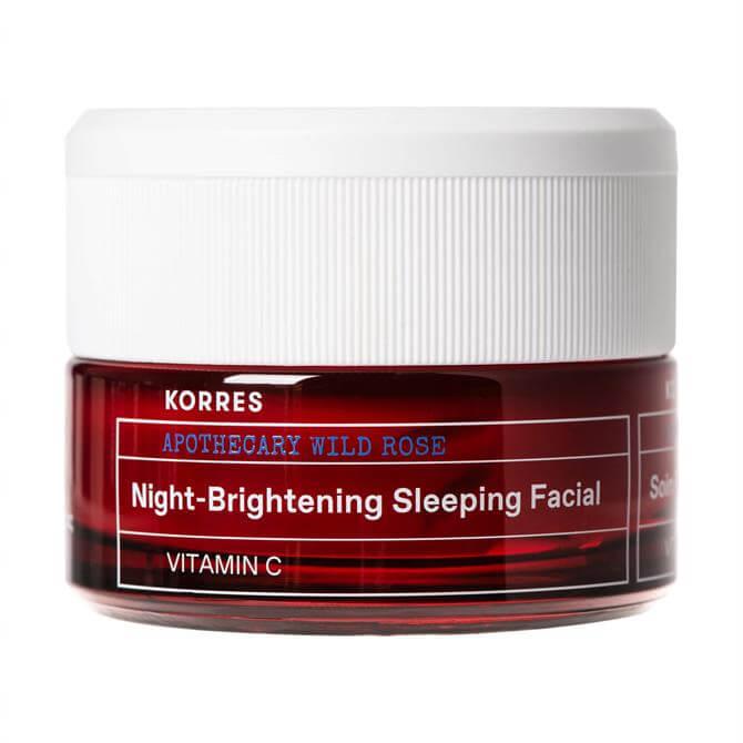 KORRES Apothecary Wild Rose Night-Brightening Sleeping Facial 40ml