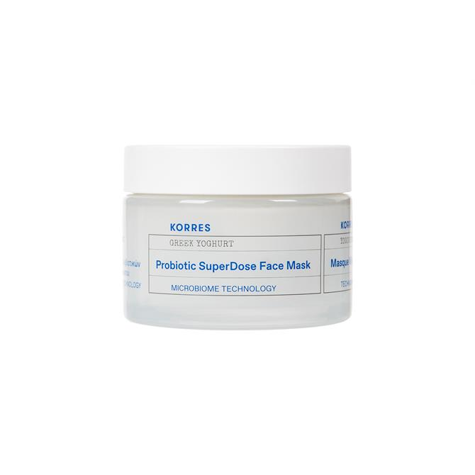 KORRES Greek Yoghurt Probiotic Superdose Face Mask 100ml