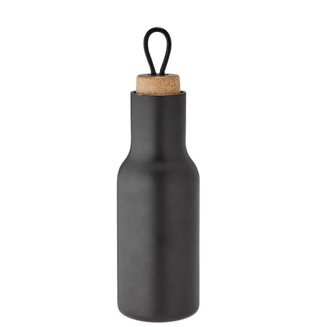 Tempa Matte Black Stainless Steel Drinks Bottle