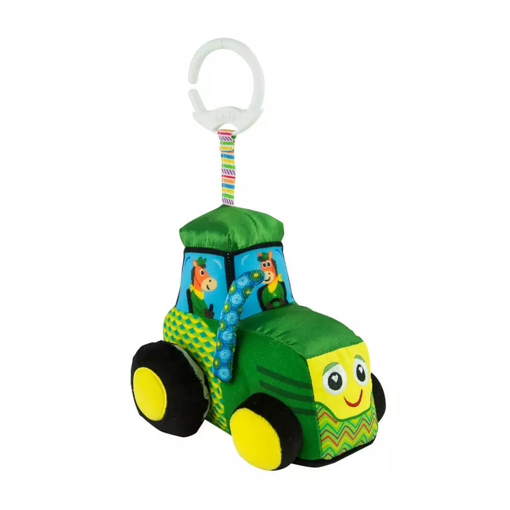 An image of Lamaze John Deere Tractor Clip & Go