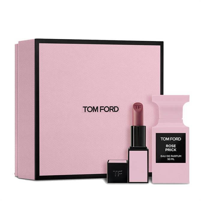 TOM FORD Rose Prick Eau de Parfum 50ml and Lip Colour Fragrance Gift Set