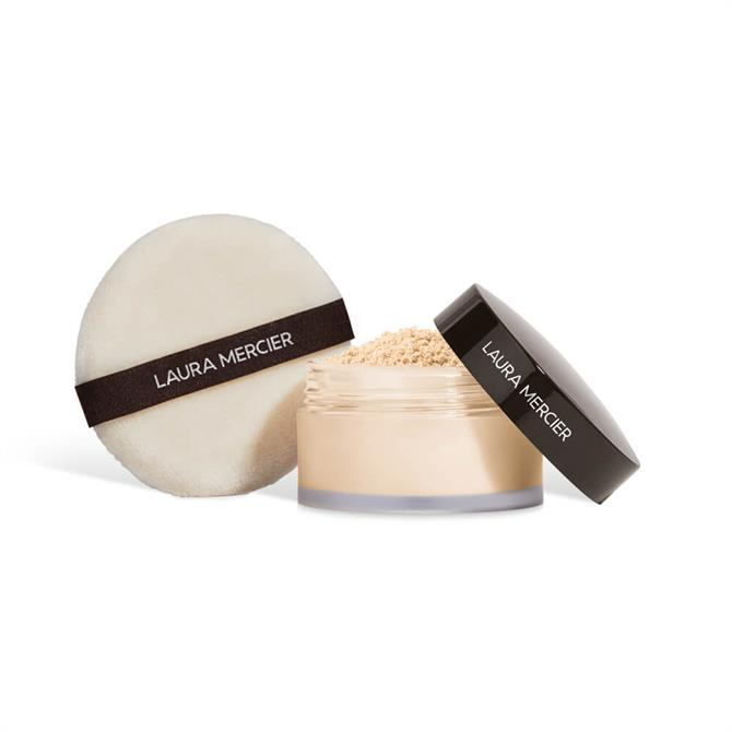 Laura Mercier Set To Perfect Translucent Loose Setting Powder & Puff Set