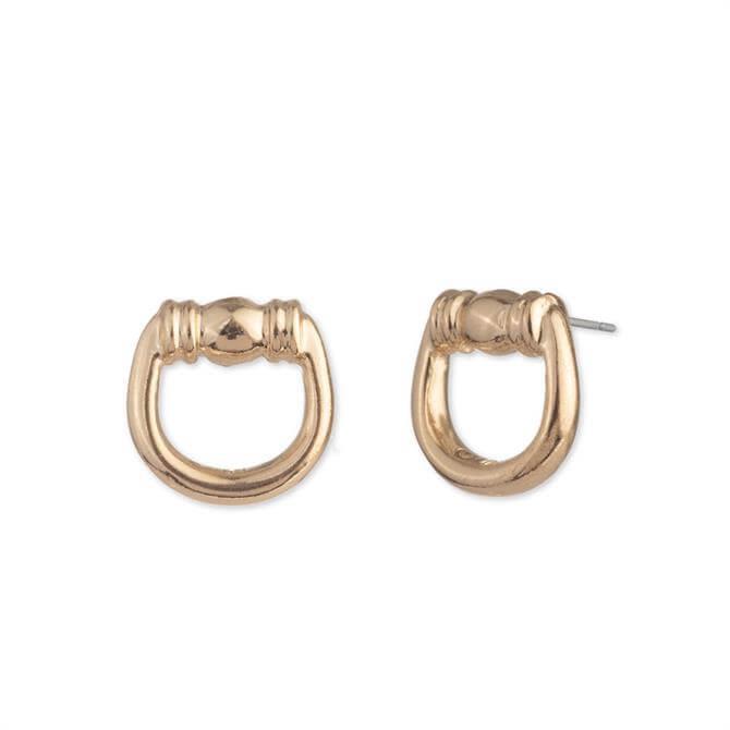 Lauren Ralph Lauren Pave Bit Stud Earrings