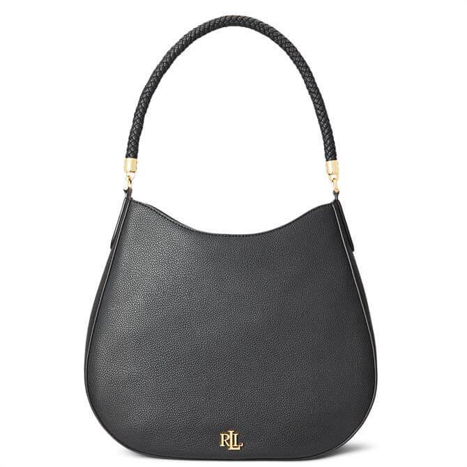 Lauren Ralph Lauren Pebbled Leather Charli Shoulder Bag