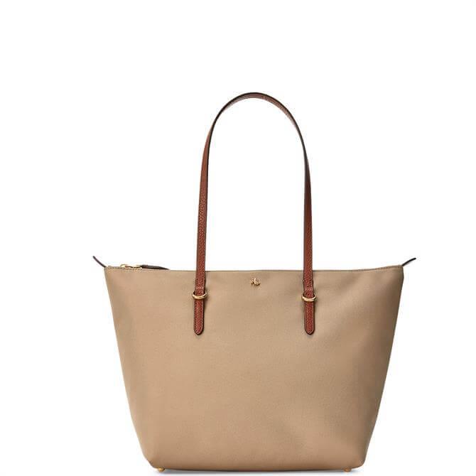Lauren Ralph Lauren Nylon Small Tote Bag