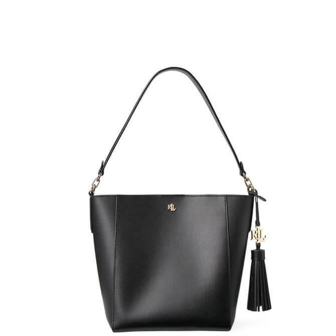 Lauren Ralph Lauren Small Adley Black Shoulder Bag