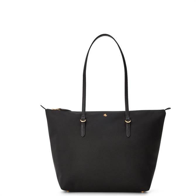 Lauren Ralph Lauren Nylon Black Small Tote Bag