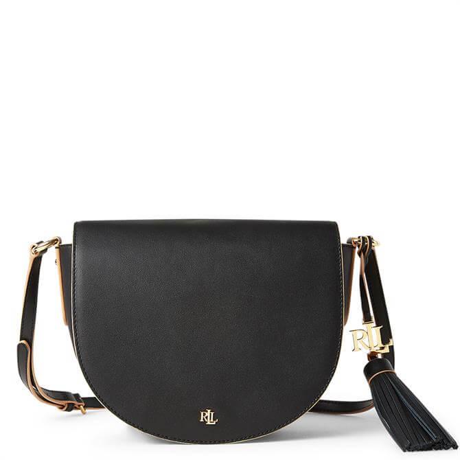 Lauren Ralph Lauren Leather Medium Crossbody Bag