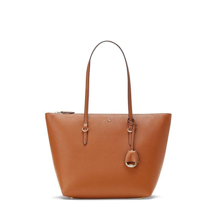 Lauren Ralph Lauren Faux-Leather Small Tote Bag