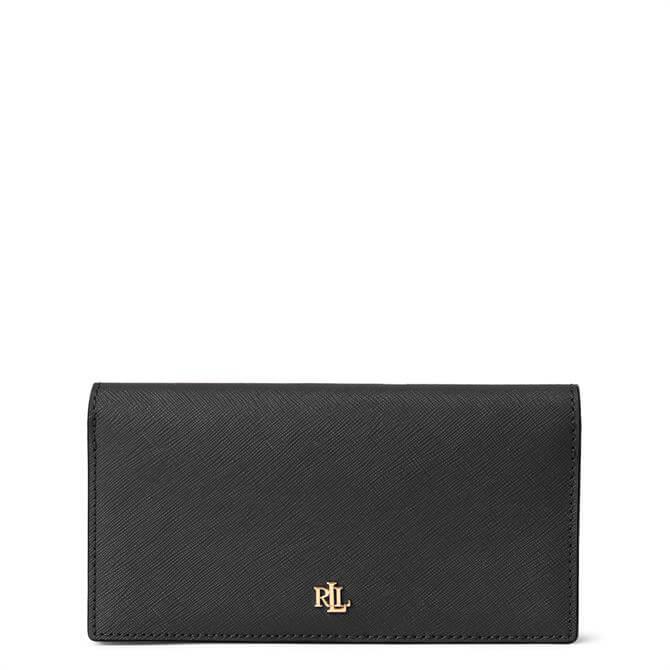 Lauren Ralph Lauren Saffiano Slim Leather Wallet