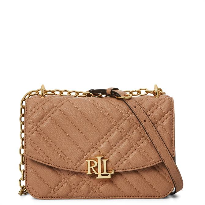 Lauren Ralph Lauren Plaid Quilted Madison Crossbody Bag