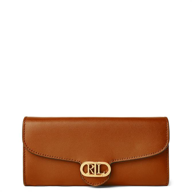 Lauren Ralph Lauren Leather Continental Wallet