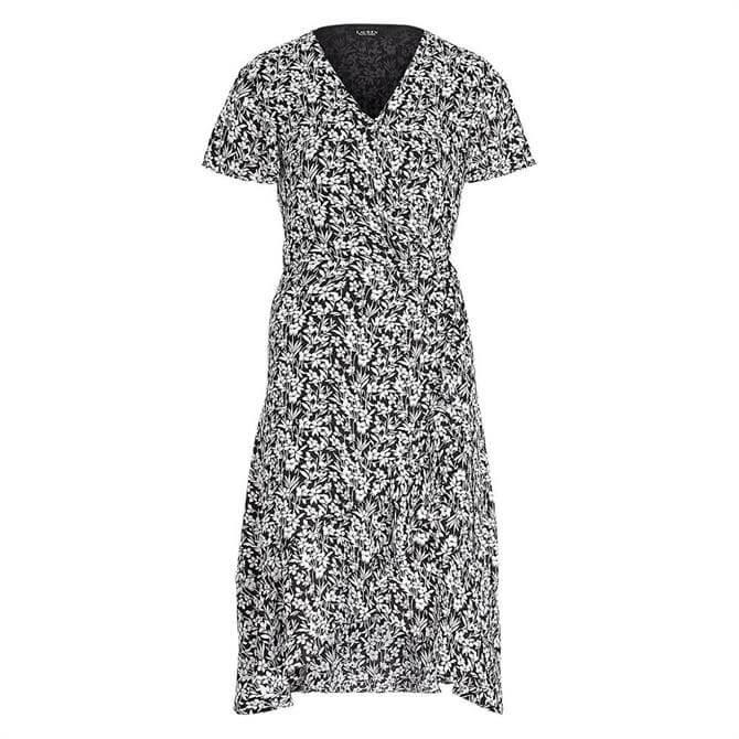 Lauren Ralph Lauren Floral Georgette Wrap Dress