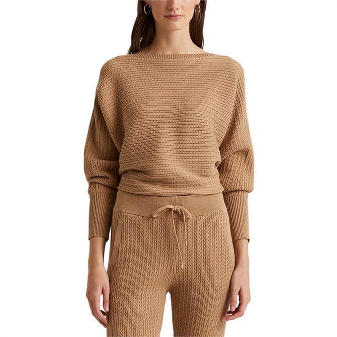 Lauren Ralph Lauren Cable-Knit Boatneck Sweater