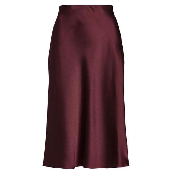 Lauren Ralph Lauren Satin Skirt