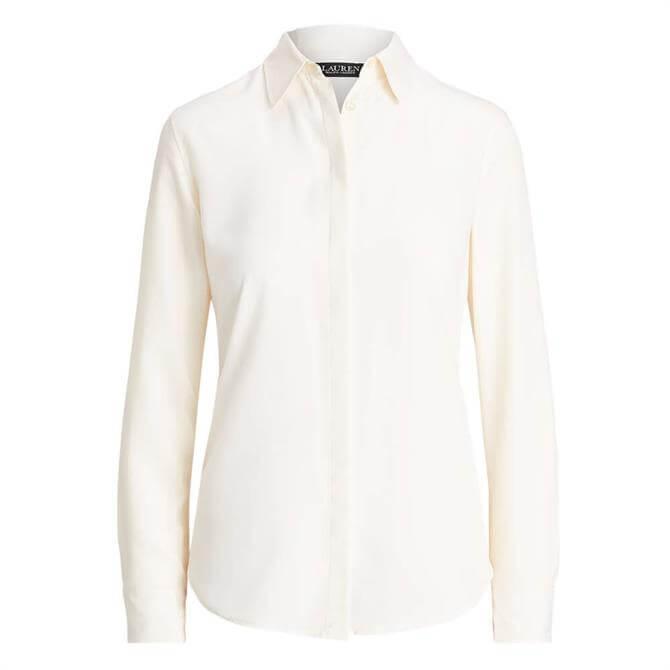 Lauren Ralph Lauren Crepe Shirt