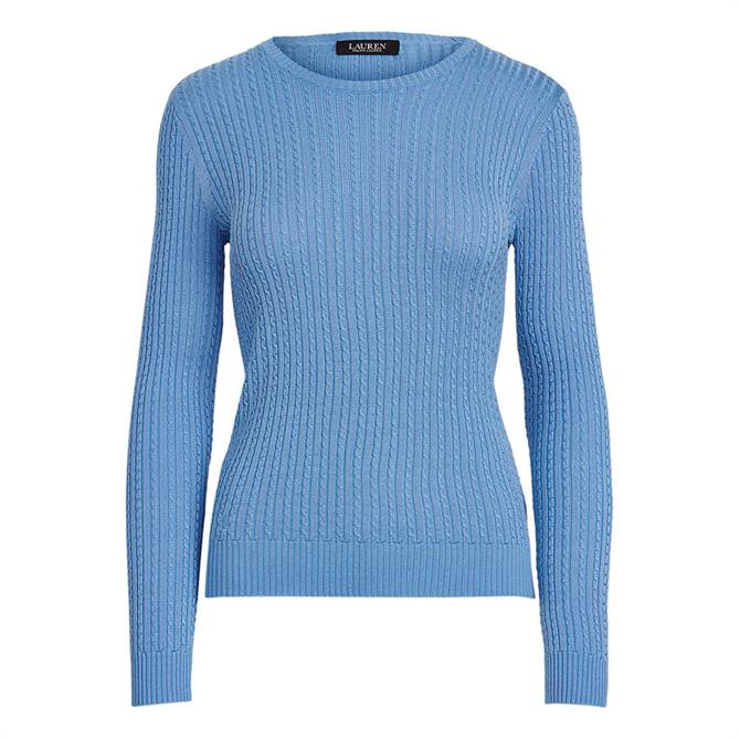 Lauren Ralph Lauren Cable-Knit Crewneck Jumper