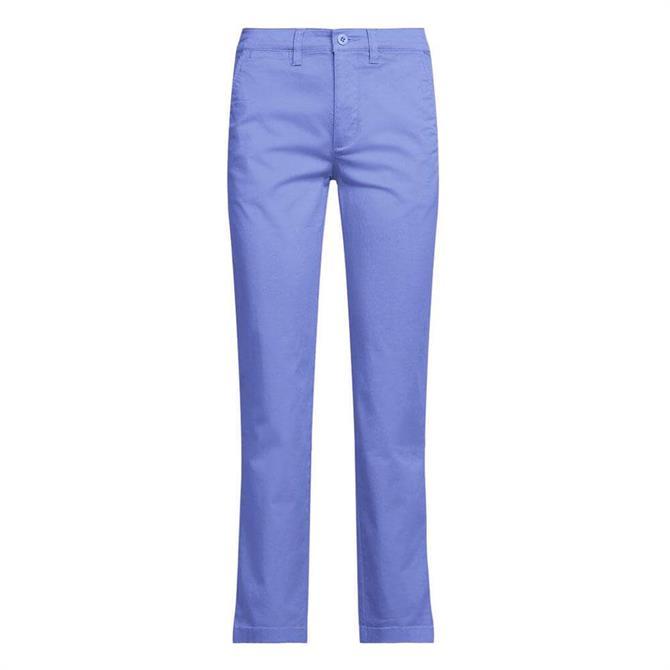 Lauren Ralph Lauren Slim Fit Stretch Blue Chino Pant