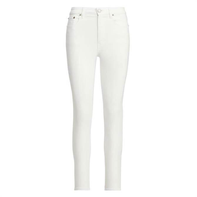 Lauren Ralph Lauren High-Rise Skinny Ankle Stretch Jean