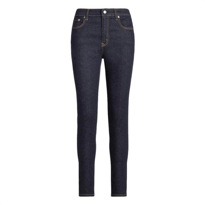 Lauren Ralph Lauren High-Rise Skinny Ankle Jean
