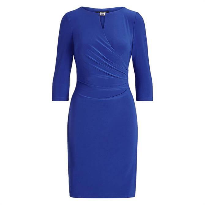 Lauren Ralph Lauren Keyhole Stretch Jersey Dress