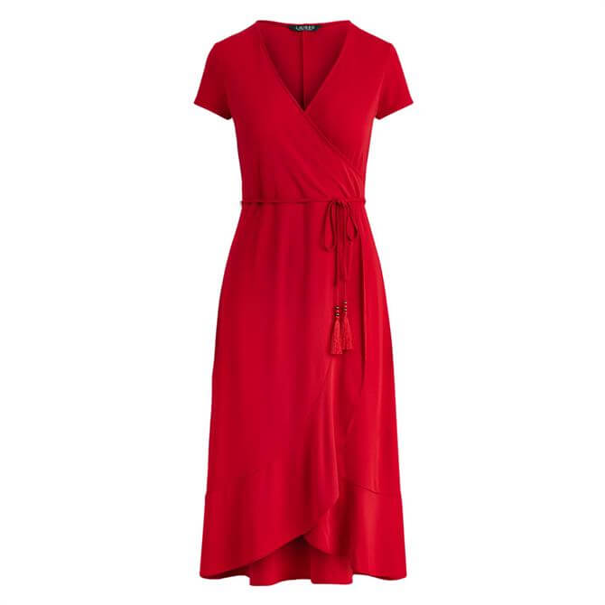 Lauren Ralph Lauren Matte Jersey Wrap Dress