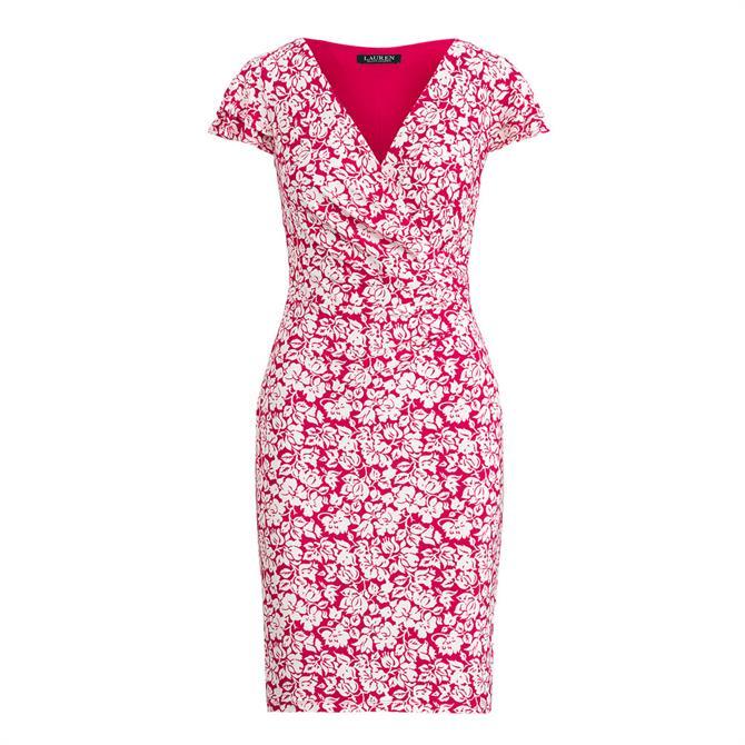 Lauren Ralph Lauren Pica Floral Print Day Dress