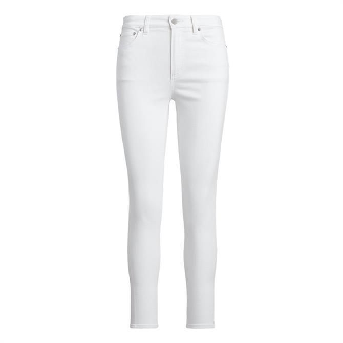 Lauren Ralph Lauren Regal White Skinny Jeans