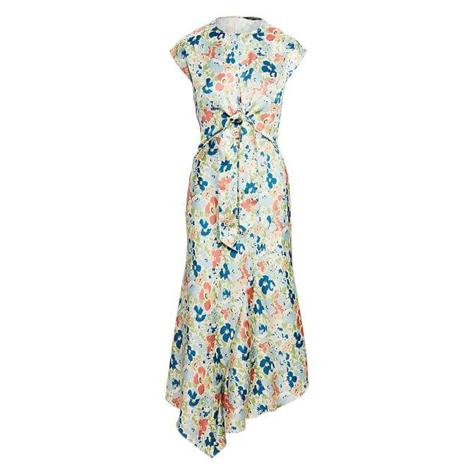 Lauren Ralph Lauren Floral Satin Dress