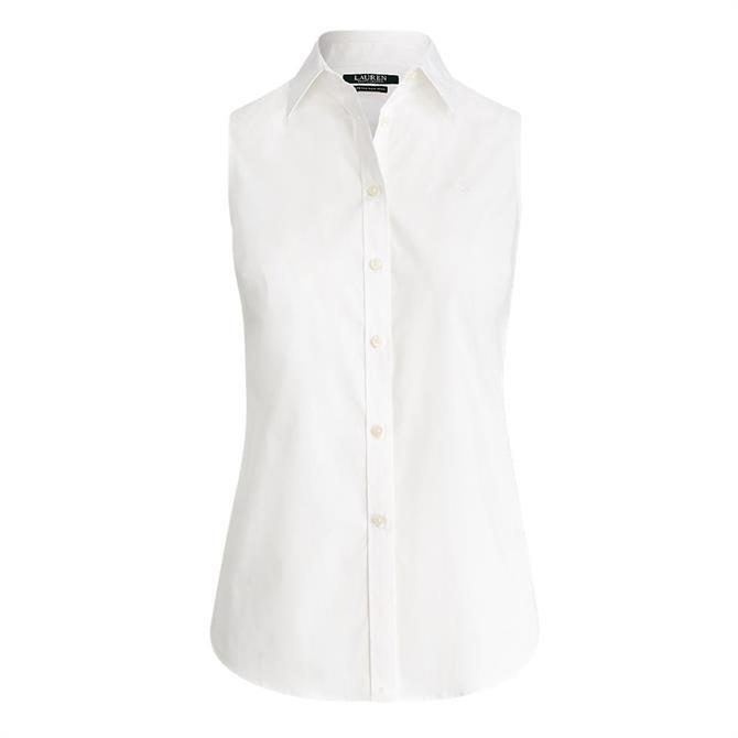 Lauren Ralph Lauren Easy Care Sleeveless Shirt