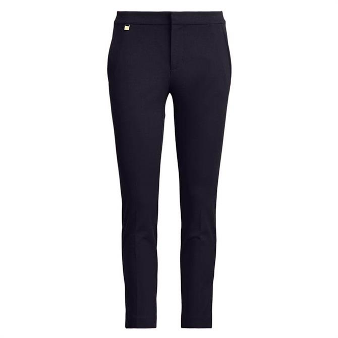 Lauren Ralph Lauren Stretch Skinny Cotton Trouser