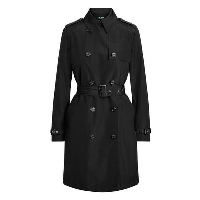 Lauren Ralph Lauren Taffeta Trench Coat