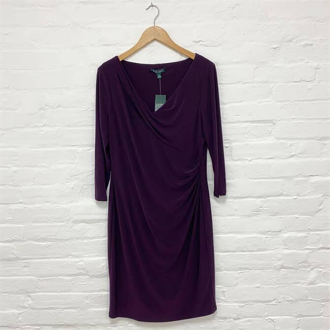 Lauren Ralph Lauren Andee Elbow-Sleeve Day-Dress