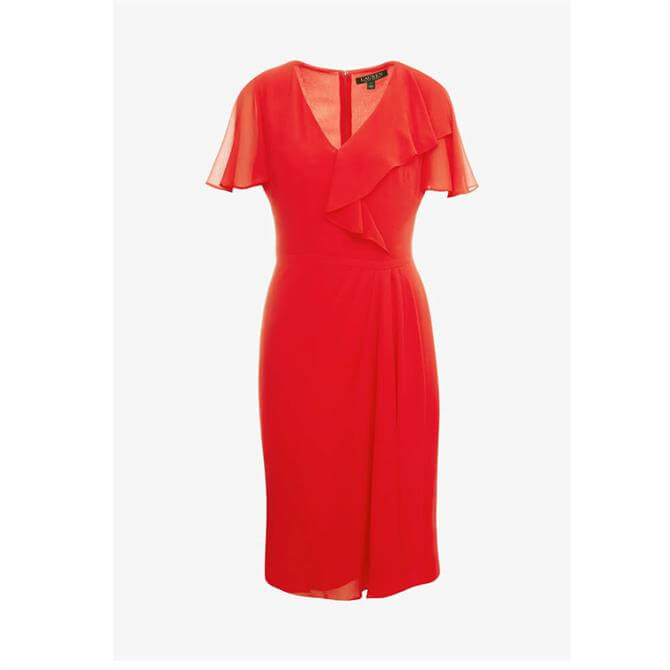 Lauren Ralph Lauren Cutler Red Dress