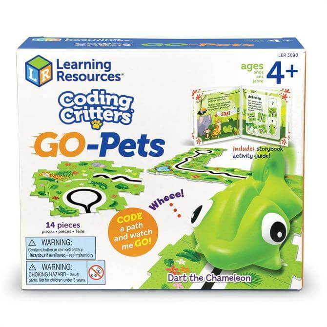 Learning Resources Coding Critters Go-Pets Dart the Chameleon