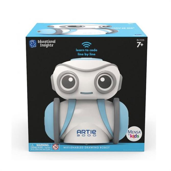 Learning Resources Artie: 3000 Coding & Drawing Robot