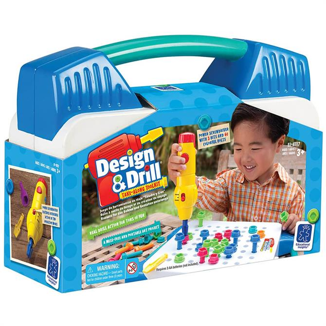 Learning Resources Design and Drill Take Along Tool Kit