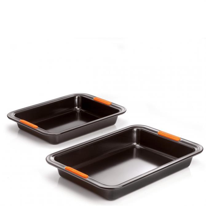 Le Creuset Rectangular Baking Tray Set