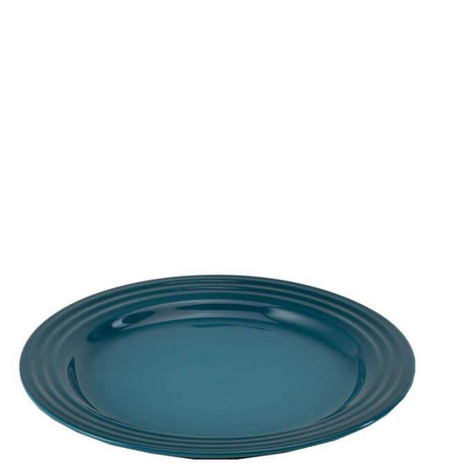 Le Creuset Deep Teal Stoneware Vancouver Side Plate 22cm