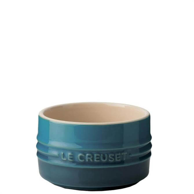 Le Creuset Deep Teal Stoneware Stackable Ramekin