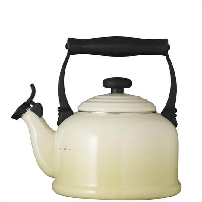 Le Creuset Almond Traditional Kettle with Fixed Whistle 2.1L