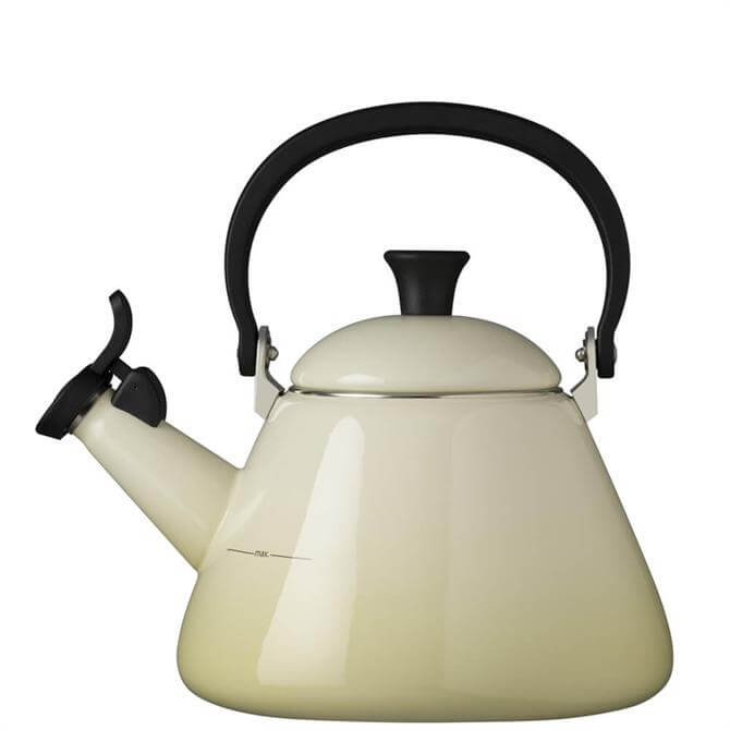 Le Creuset Almond Kone Kettle with Fixed Whistle 1.6L