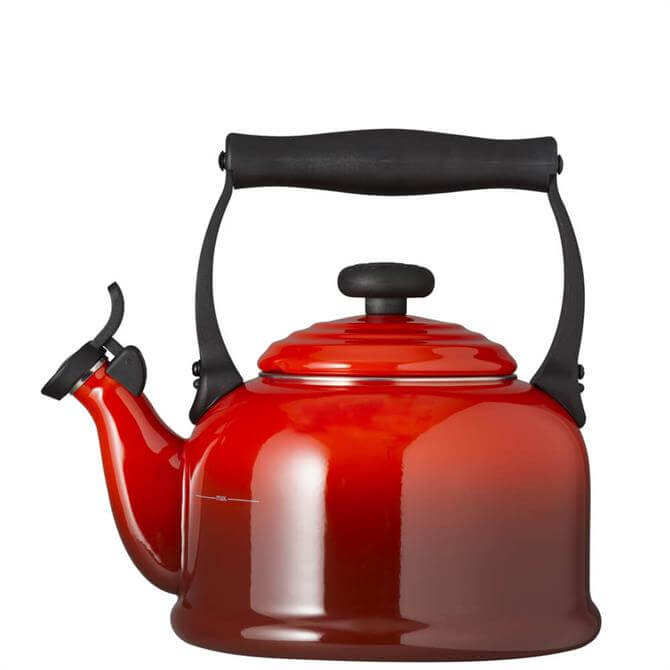 Le Creuset Cerise Traditional Kettle with Fixed Whistle 2.1L