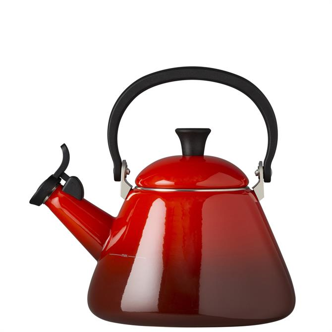 Le Creuset Cerise Kone Kettle with Fixed Whistle 1.6L