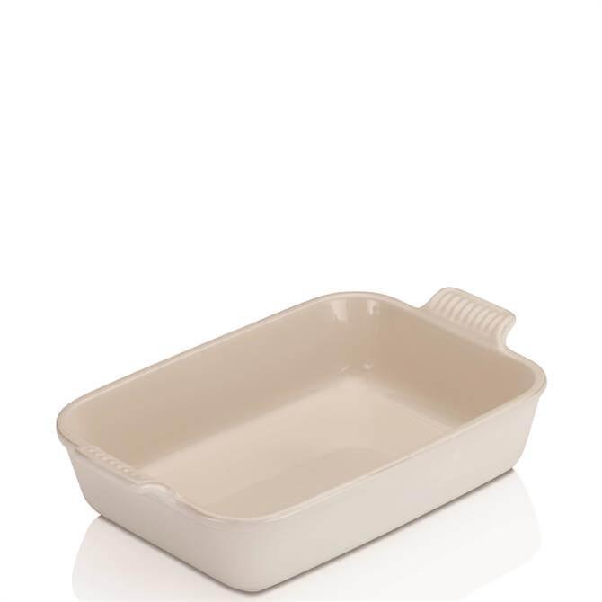 Le Creuset Cotton Stoneware Medium Heritage Rectangular Dish